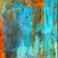 Blue Moon, Rust Painting