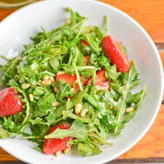 Strawberry Arugula Salad - Salu Salo Recipes