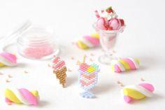Epinglé par le site de fournitures de loisirs créatifs DIY https://la-petite-epicerie.fr/fr/ coupe glacee en perles miyuki ! - http://blog.la-petite-epicerie.fr/