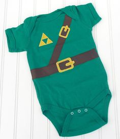 There is a right way to raise kids.  This is it.  Link Onesie