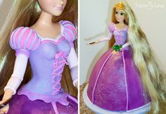 MAD fondant skills!  Source: http://topsyturvycakes.com/wp-content/uploads/2011/08/tangled-rapunzel-barbie-fondant-birthday-cake.jpg