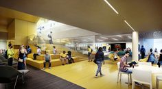 3D Visualizations - NC Student Center – VINES ARCHITECTURE - Merêces - Architectural Visualisation
