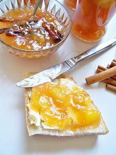 Reteta Dulceata de piersici cu vin - Dulceata / Gem Preserves, Camembert Cheese, Peach, Pudding, Drink, Desserts, Canning, Tailgate Desserts, Preserve