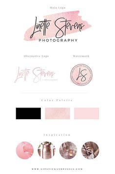 rose gold logo, gold foil logo, premade, premade logo, premade logos, logo template, logo design, affordable logo, premade logo etsy, etsy, pre-made logo, pre-made, logos, branding, brand, design, shop, logo shop, shop logos, logo design shop, lipstick an