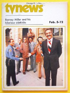 Barney Miller - Chicago Daily News TV guide, Feb 5 1977 (http://www.ebay.com/itm/Hal-Linden-Abe-Vigoda-BARNEY-MILLER-Chicago-Daily-News-TV-guide-Feb-5-1977-/380805502296?pt=Magazines&hash=item58a9c6d558)