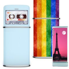 Transform the look of your kitchen with appliance haute couture from KUDU Magnets. Its oversized art pieces are easy to apply, cling smoothly to fridge surfaces, and can be removed lickety-split. Snag a coupon, browse fun designs like a music-loving kitty, large luscious lips, or a wise owl, and express yourself.