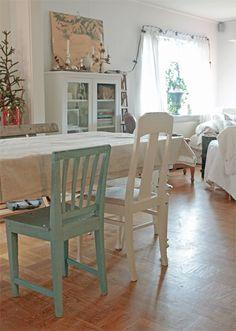 färg på stolarna