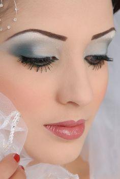 silver makeup ideas - Google Search