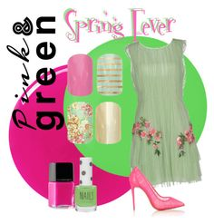 """Spring Fever Nails"" by ashlynia ❤ liked on Polyvore featuring Nails Inc., Pop Beauty, Alberta Ferretti, Illamasqua, Topshop and Christian Louboutin"