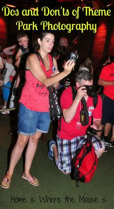 DOs and DON'Ts of Theme Park Photography | Home is Where the Mouse is