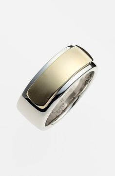 MARC BY MARC JACOBS 'New Plaque' Band Ring available at #Nordstrom