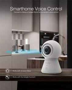1080P PTZ Smart Home Security IP Camera Two-way Audio – Smart Home Gadgets #smarthome #security #camera #smartcamera #voicecontrol #smart #voice #alexa #echo #googlehome Ip Camera, Best Camera, Security Gadgets, Smart Home Security, Alexa Echo, Home Gadgets, Security Camera, Audio, Home Appliances