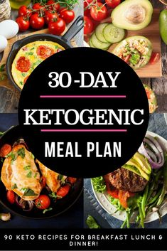 90 Keto Diet Recipes This 30-day keto meal plan is perfect if you're new to the ketogenic diet or if you are looking for delicious keto recipes to add to your weekly meal plan! With over 90 easy breakfast, lunch, and dinner recipes you'll find great tasting low carb meals for every day of the month! From easy crockpot keto recipes to vegetarian and dairy-free options-this ketogenic meal plan has you covered! #keto #ketogenic #ketodiet #ketorecipes #ketogenicdiet