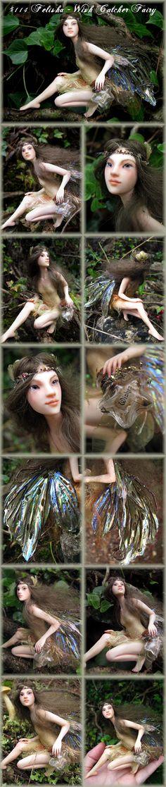 Nenúfar Blanco ~ #114 Felisha - Wish Catcher Fairy