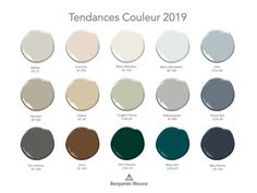 Here is the color chart of Benjamin Moore& timeless colors, which . Color Trends, Design Trends, Benjamin Moore, Colours That Go Together, Living Room Color Schemes, Beach House Decor, Room Colors, Interior Design Living Room, Home Deco