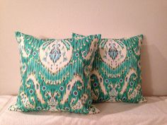 DecorativeAccentThrowSet of Two 20 inch Pillow by EllensDesigns, $60.00
