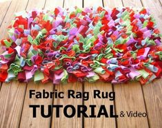 Easy Rag Rug DIY Is Quick To Make And Looks Great | The WHOot