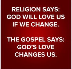 The Gospel says...