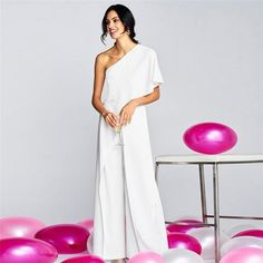 Women's Off Shoulder Bodycon Slim Elegant Jumpsuit Long Trouser Party Formal High street Clubwear Wine Cocktail Party Jumpsuits Ruffle Jumpsuit, Ruffle Romper, Casual Jumpsuit, White Jumpsuit, Elegant Jumpsuit, Long Jumpsuits, Jumpsuits For Women, One Shoulder Jumpsuit, Mommy Style