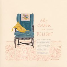 'The Chair of Delight' Part of my Paper Trail show on display right now at MadeLife in Boulder. All of the works are available online at shop.madelife.com/collections/rebecca-green