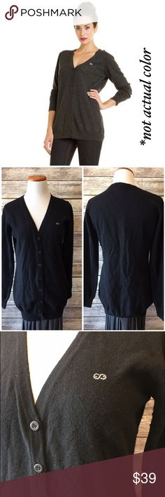 "✳️MOVING SALE✳️Escada Sport Black Wool Cardigan Escada Sport black wool cardigan. A wardrobe classic. Never goes out of style. Made of 100% virgin wool. Measures from pit to pit 19.5""/ length 28"". Has signs on pilling under the pit areas. Escada Sweaters Cardigans"