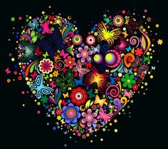 GOANG Diy 5 d Diamond Painting cross stitch Color butterfly heart Diamond embroidery flower painting rhinestones mosaic painting I Love Heart, Happy Heart, Peace And Love, Color Heart, Heart Wallpaper, Cool Wallpaper, Halloween Imagem, Heart Images, Heart Pics