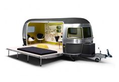 campervan, now we're talking  MINI and Airstream-designed by Republic of Fritz Hansen Picture #2
