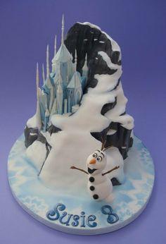 Idée déco gâteau anniversaire fille reine des neiges gateaux idées