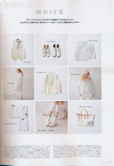 memo: 概念: 白色 九宮格中最下面一row 的中間那張, 七分褲和白鞋.