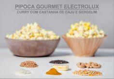 Receita de pipoca gourmet de microondas :)