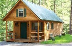 small cabin - this is what I was dreaming about...but only found a picture of one!! hahahaha