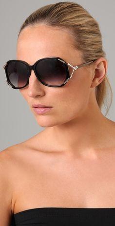 Matthew Williamson  Oversized Sunglasses