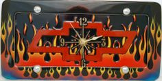 1 , Chevy Clock, on a, 'CHEVY BOW TIE, in, FLAMES', Metal Sign, on a, Metal, Flames, Frame,,27B5.1&29B2.4,,,SHIPPED USPS,,,,,,,,, ASTRODEALS,http://www.amazon.com/dp/B00HLN9O74/ref=cm_sw_r_pi_dp_W89btb18D5DDSD3D