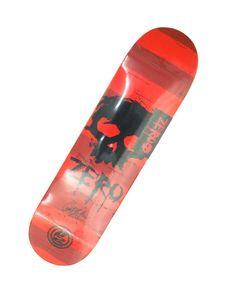 Deck ZERO ProModel: GARRETT HILL  #skateboarding #zero #ProModel #garrett_hill