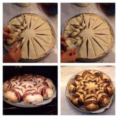 Braided Nutella Bread It looks so yummy  I'm sure it tastes as good as it looks :).