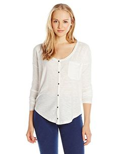 Roxy Junior's Still Mountain Henley Shirt