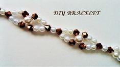 Diy beaded bracelet. The easiest tutorial