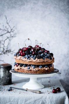 Chocolate,fruity cake - Bea's cookbook - - Chocolate,fruity cake – Bea's cookbook Cake Photography Chocolate,fruity cake – Bea's cookbook Food Cakes, Cupcake Cakes, Cupcakes, Sweet Recipes, Cake Recipes, Dessert Recipes, Chocolate Fruit Cake, Beaux Desserts, Naked Cakes