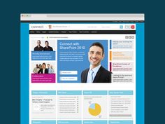 SharePoint Intranet for Capgemini called Connect