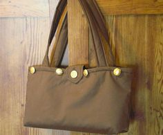 Brown Basic Hand Bag To Use With Skirts Bag by EarthsEnchantments, $25.00