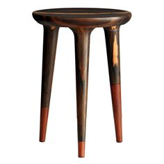 """Chamak"" Stool by ITZ Mayan Wood Furniture 