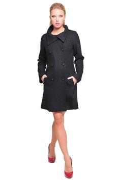Olian Maternity Pea Coat | Due Maternity