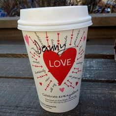 Starbucks love.