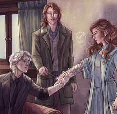 Draco Malfoy, Draco And Hermione, Draco Harry Potter, Harry Potter Ships, Hermione Granger, Harry Potter Artwork, Harry Potter Images, Hogwarts, Slytherin