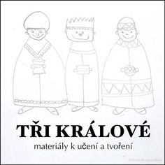 Tři Králové – písničky, básničky, pracovní listy | thebulletpointkids | Bloglovin' Three Wise Men, Special Day, Christmas Holidays, Preschool, Bible, Clip Art, Creative, Blog, Xmas