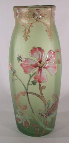 Legras Art Glass Vase Circa 1910