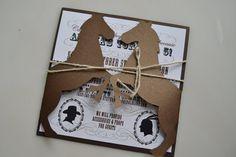 Western Ho Down Cowboy Indian Horse Pony Invites on Etsy, $3.00