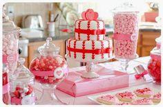 Inspiração para o Chá de Panela: vermelho + rosa + branco - Apenas Três Palavras: Sim, Eu Aceito!