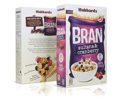 Hubbards Bran Cereal (Redesigned) on Packaging of the World - Creative Package Design Gallery Food Packaging Design, Packaging Design Inspiration, Brand Packaging, Packaging Ideas, Granola, Muesli, Cereal Packaging, Bran Cereal, Cereal Killer