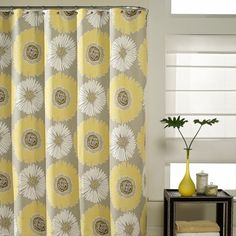 Bloom 72 X Fabric Shower Curtain